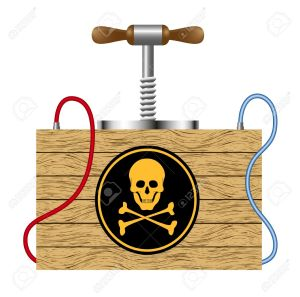 11664544-Bomb-detonation-cabinet-with-danger-sign-skull-symbol--Stock-Vector